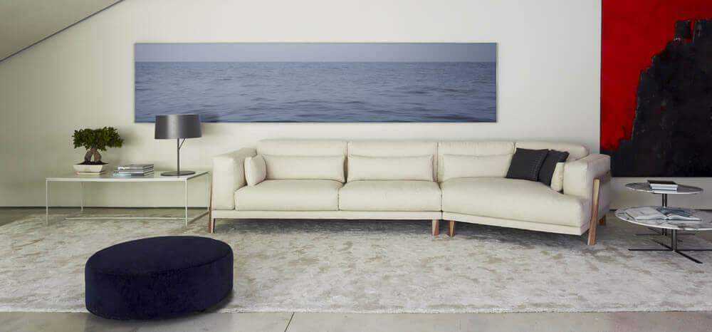Muebles y sofás de diseño, sofás en Barcelona