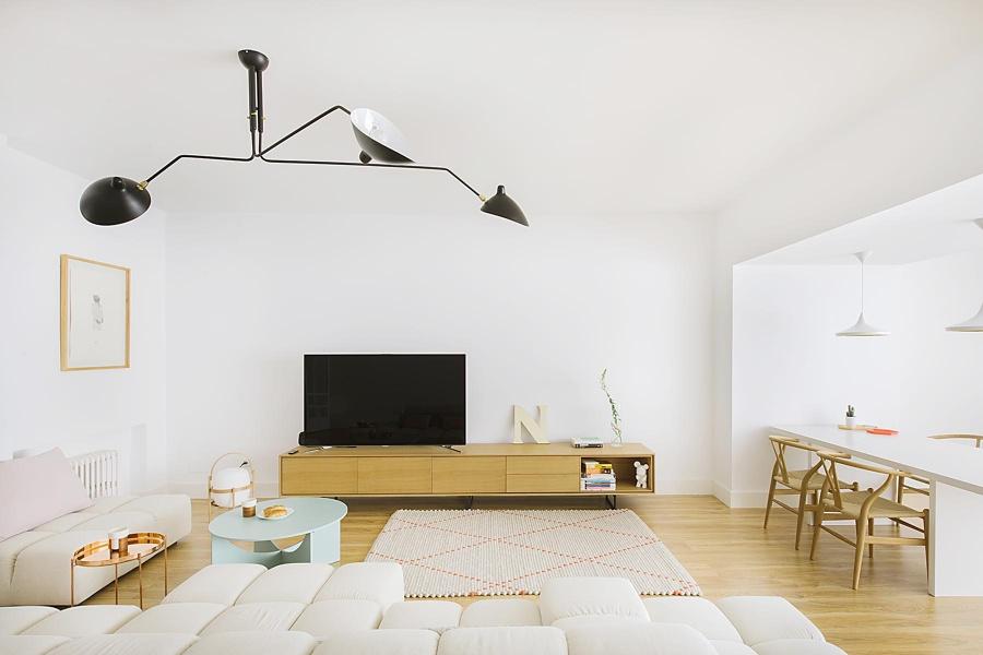 Mueble TV de la colección AURA by Treku